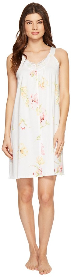 Carole HochmanCarole Hochman - Floral Knit Chemise Women's Pajama