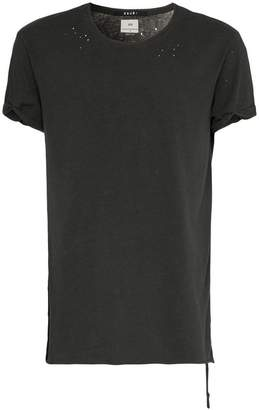 Ksubi Kodeine reverse stitch cotton t-shirt