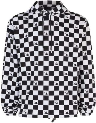 McQ Chequered Swallow Hoodie
