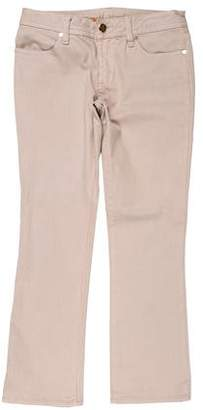 Tory Burch Mid-Rise Straight-Leg Pant