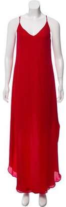 CAMI NYC Asymmetrical Maxi Dress
