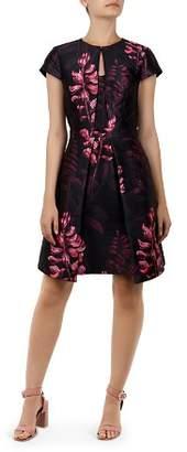 Ted Baker Jebby Splendor Jacquard Dress