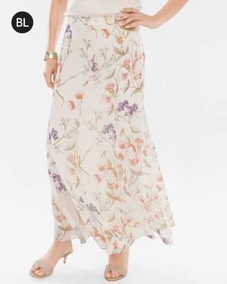 Black Label Floral Skirt