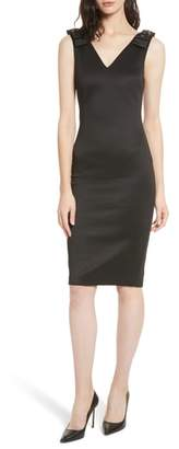 Ted Baker Belliah Bow Shoulder Body-Con Dress