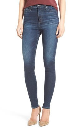 Women's Ag Mila Super High Rise Skinny Jeans $210 thestylecure.com