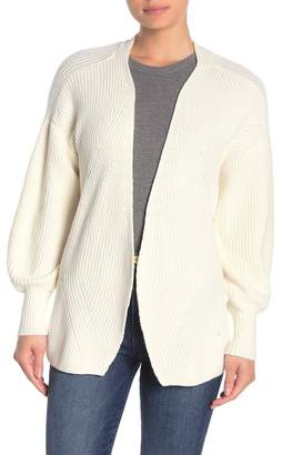 Frame Chunky Knit Tie-Front Cardigan