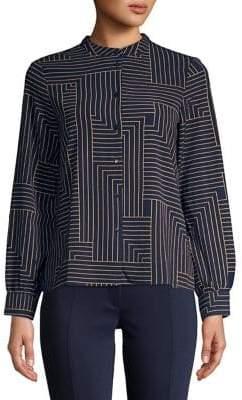 Vero Moda Printed Button Front Shirt