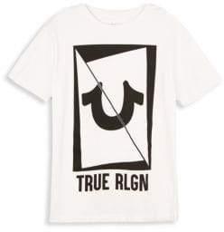 True Religion Toddler's, Little Boy's & Boy's Long Sliced Cotton Tee
