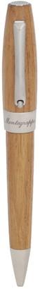 Montegrappa Heartwood Light Teak Wood Ballpoint Pen