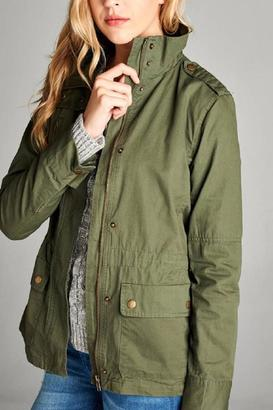 Active Basic Utility Jacket $58 thestylecure.com