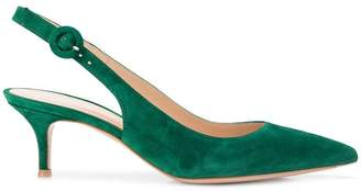 Gianvito Rossi pointed slingback pumps