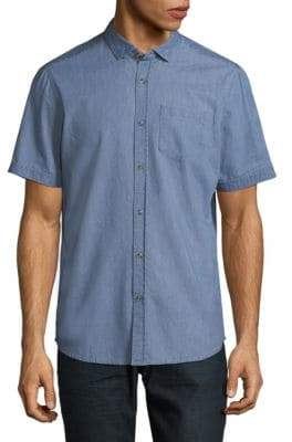 Saks Fifth Avenue Denim Button-Down Shirt