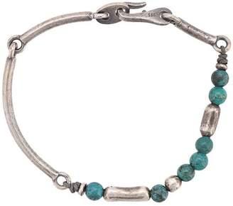 M. Cohen clasp bead bracelet