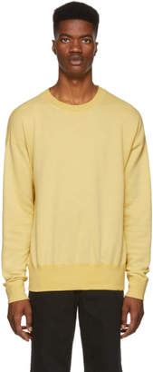 John Elliott Yellow Vintage Fleece Sweatshirt