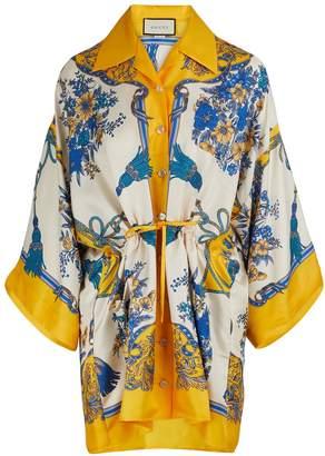 Gucci Silk printed shirt