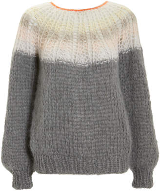 Maiami Ombre Grey Sweater