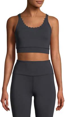 Kate Spade scallop sports bra