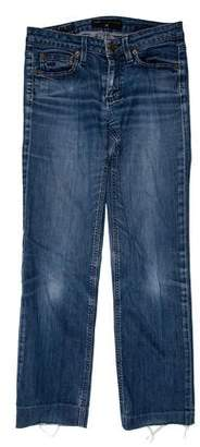 Marc by Marc Jacobs Low-Rise Straight-Leg Jeans