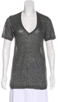 Isabel Marant Linen Short Sleeve T-Shirt w/ Tags