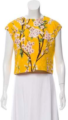 Dolce & Gabbana Floral Sleeveless Top