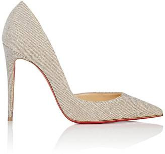 Christian Louboutin Women's Iriza Half D'Orsay Pumps $695 thestylecure.com