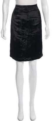 Emilio Pucci Knee-Length Velour Skirt