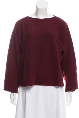The Row Dolman Sleeve Cashmere Sweater