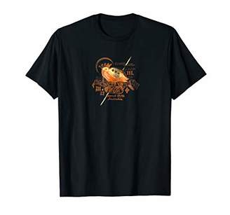 Mens Song Bird Shirt - Vintage Brand Apparel T-shirt - Old Crest