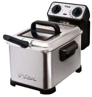 T-Fal FR4049 Family Pro 3-Liter Deep Fryer with Stainless Steel Waffle, 2.6-Pound