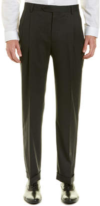 Brooks Brothers Brooks Brother Madison Fit Pleated Wool-Blend Trouser
