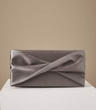 Reiss Baby Beau Satin Clutch Bag
