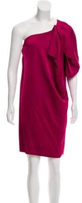 Stella McCartney Mini One-Shoulder Dress