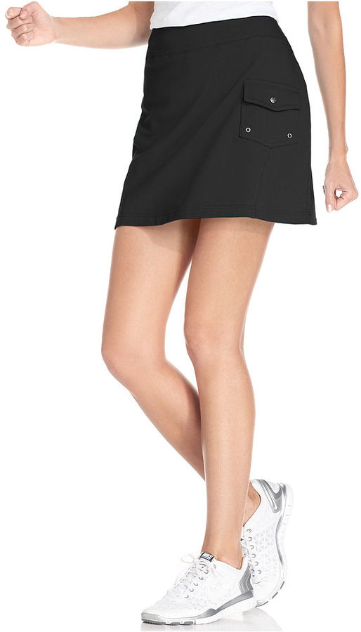 Style&Co. Sport French Terry Cargo Skort