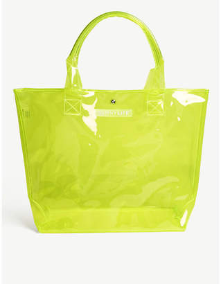 Sunnylife Ladies Yellow Market Neon Beach Bag