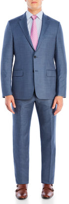hickey freeman Blue Pinstripe Wool Suit $1,495 thestylecure.com