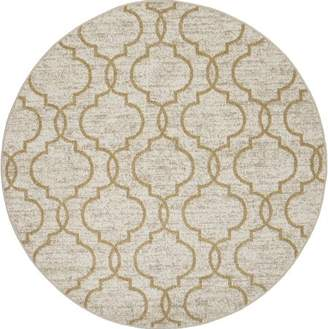 Concord Global Trading New Casa Collection Quatrefoil Area Rug