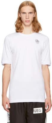 Ueg White Polska T-Shirt