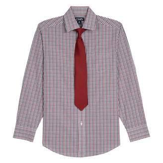Chaps Boys 8-20 Plaid Button-Down Shirt & Tie Set