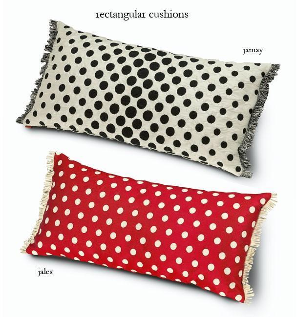Missoni Home - farfalle & pois cushions by missoni home