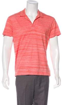 Orlebar Brown Striped Polo Shirt