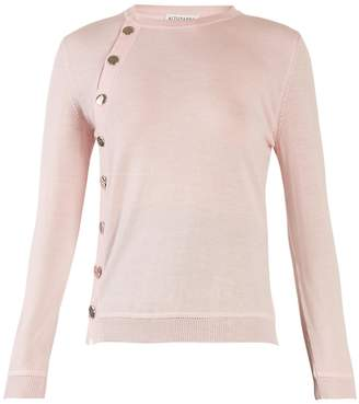 Altuzarra Minamoto button-through wool sweater