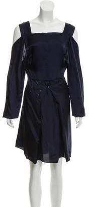 Maison Margiela Cutout Mini Dress w/ Tags