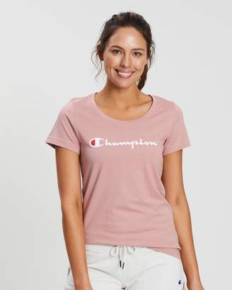 Champion Graphic Script Tee
