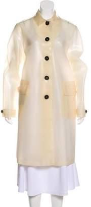 Burberry Long Rain Coat
