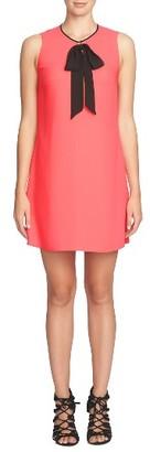 Women's Cece Rosie Tie Neck Dress $128 thestylecure.com