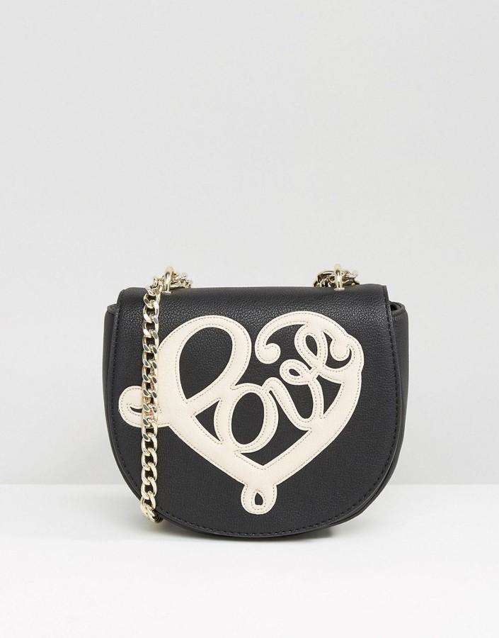 Love MoschinoLove Moschino Slogan Cross Body Bag