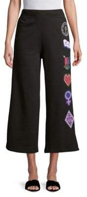 Opening Ceremony Sorority Wide-Leg Cotton Sweatpants