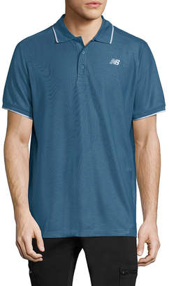 New Balance Woven Polo Shirt
