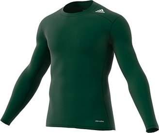 adidas 2015 Techfit Base Mens Long Sleeve Training Shirt L
