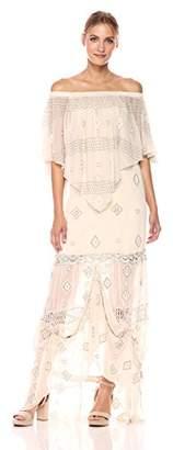 Haute Hippie Women's Mary Maxi Dress,S